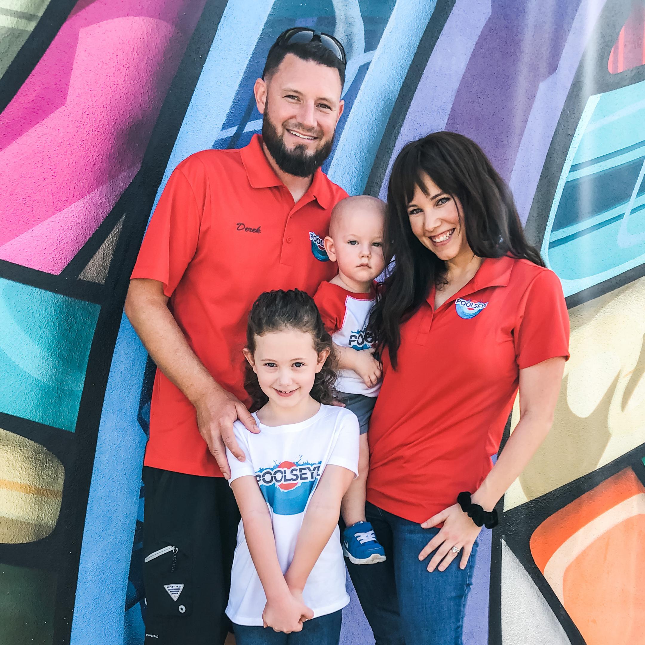 Poolseye Family Mural Square 2020
